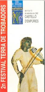 II Festival Terra de Trobadors 1992