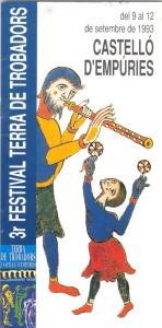III Festival Terra de Trobadors 1993