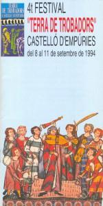 IV Festival Terra de Trobadors 1994