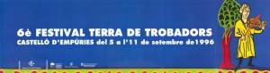 VI Festival Terra de Trobadors 1996