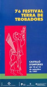 VII Festival Terra de Trobadors 1997