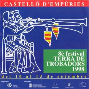 VIII Festival Terra de Trobadors 1998