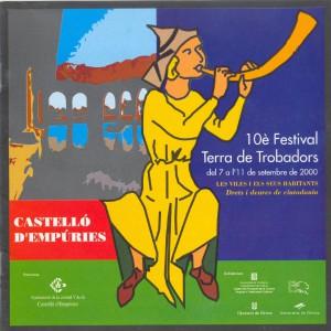 X Festival Terra de Trobadors 2000