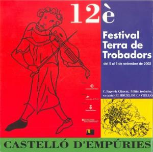 XII Festival Terra de Trobadors 2002