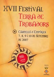 XVII Festival Terra de Trobadors 2007