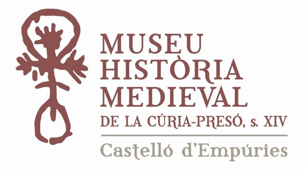 Logotip Museu d'Història Medieval Cúria-Presó Castelló d'Empúries